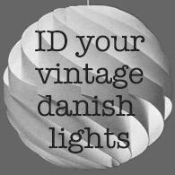 ID your vintage Danish lights