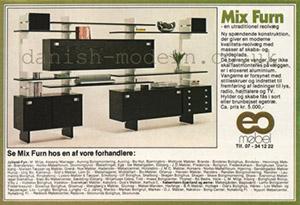 Danish modern shelving ad