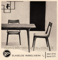 Unspecified designer for Slagelse Møbelvaerk: 370, 371 1