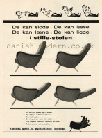 Unspecified designer for Hjørring Møbel- & Madrasfabrik: Stille-stolen