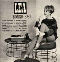 Unspecified designer for LEA: Bongo