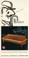 Unspecified designer for Erhardsen & Andersen (Eran): Windsor