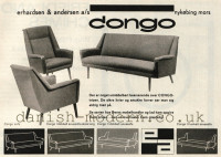 Unspecified designer for Erhardsen & Andersen (Eran): Congo