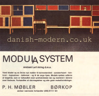 Leif Alring for PH Møbler: Modula System 1