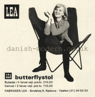 Unspecified designer for LEA: Butterflystol