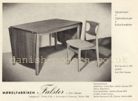 Wahl Iversen for Møbelfabriken Falster: 245 table & chair