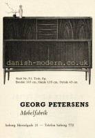 Unspecified designer for Georg Petersens Møbelfabrik: 51