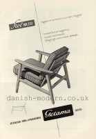Hans J Wegner for Getama: 233 2