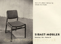 Arne Vodder for Sibast Møbler: 51 2