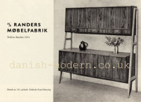 Kurt Østervig for Randers Møbelfabrik: 50 1