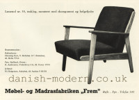 Unspecified designer for Møbel- & Madrasfabriken Frem Røjle: 55 1