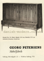 Johannes Andersen for Georg Petersens Møbelfabrik: 52