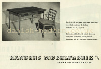 Unspecified designer for Randers Møbelfabrik: 32, 47