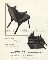 Unspecified designer for Matthes Polstermøbelfabrik: 33b