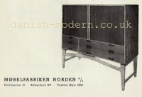 Unspecified designer for Møbelfabriken Norden