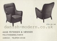 Unspecified designer for Aage Petersen & Sønner: 148 9