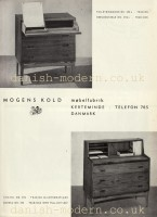 Unspecified designer for Mogens Kold Møbelfabrik: 392, 395