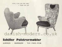 Unspecified designer for Schiller Polstrermøbler: A24 1