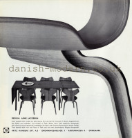 Arne Jacobsen for Fritz Hansen: 4130, 4606 1