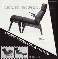 Christian Sørensen for Gorm Møbler: Model II 1