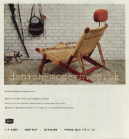 Brockmann Petersen for P Kjaer: Hunting chair 1