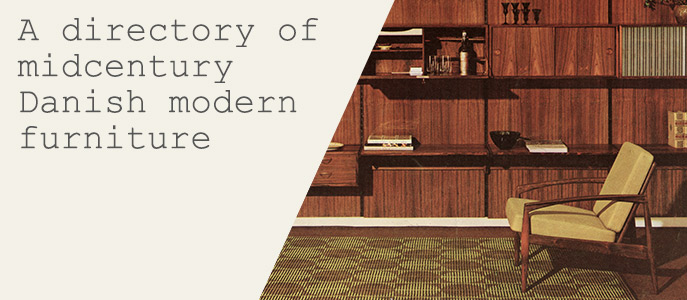A directory of midcentury Danish modern furniture 1
